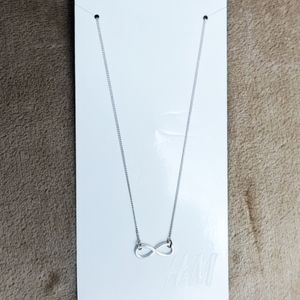 Women's H&M Infinity Symbol Necklace